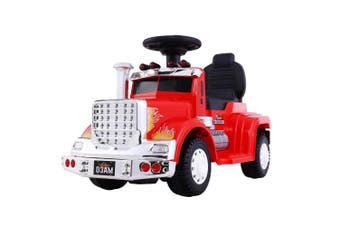 Kids Electric Ride On Truck in Red