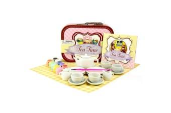 SpiceBox Paint and Pretend Tea Set