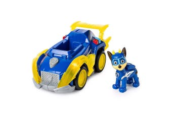 Paw Patrol Mighty Pups Super Paws Chase's Deluxe Vehicle