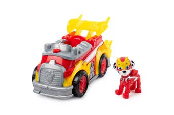 Paw Patrol Mighty Pups Super Paws Marshall's Deluxe Vehicle
