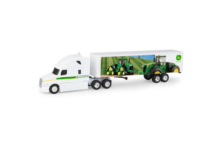 John Deere Big Farm Hauler Semi and Tractor - 1:64