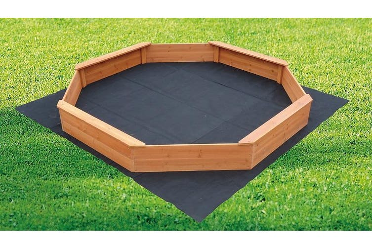 Large Octagonal Wooden Sand Pit