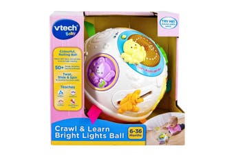Vtech Baby Crawl & Learn Bright Lights Ball in Pink