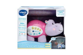 VTech Starlight Sounds Hippo Toy in Pink