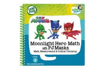 LeapFrog LeapStart PJ Masks Moonlight Hero Math Activity Book - 3D Enhanced