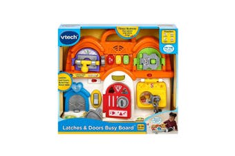 VTech Latches and Doors Busy Board