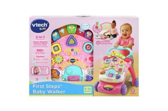 Vtech Baby First Steps Baby Walker Refresh in Pink