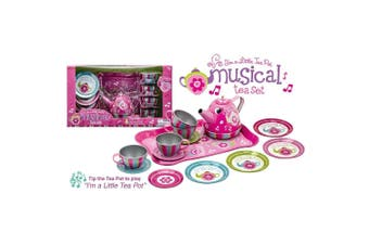 Schylling Musical Tin Tea Set