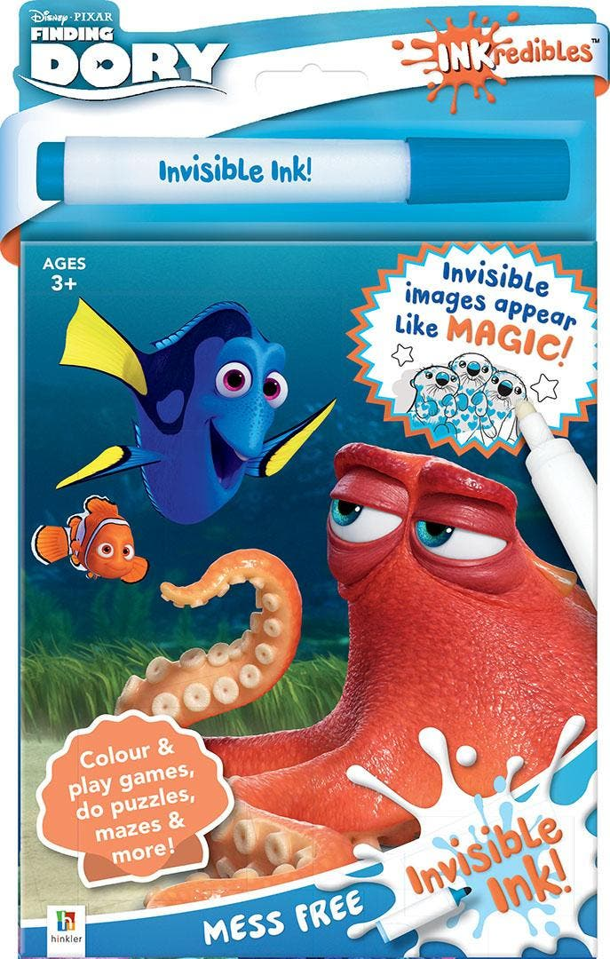 Inkredibles Finding Dory Invisible Ink Inkredibles Finding Dory Invisible Ink