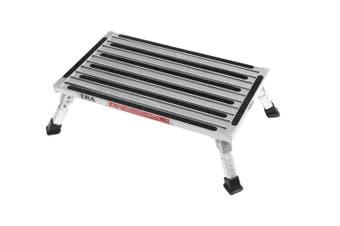 TRA Extra Large Platform Adjustable Height Single folding portable caravan camping step stool