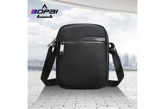 BOPAI Luxury Style Waterproof Leather & Microfibre Messenger Satchel Cross Shoulder Bag B6321