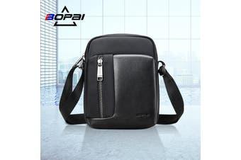BOPAI Luxury Style Waterproof Leather & Microfibre Messenger Satchel Cross Shoulder Bag B6521