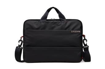 """Suissewin Swiss waterproof 15.6"""" laptop Bag  School bag Travel Briefcase SNE1619"""