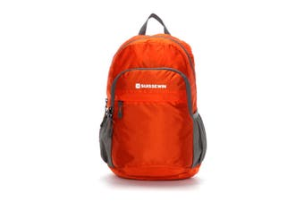 SUISSEWIN Swiss waterproof Folding Backpack Kids Daily backpack Travel Shoulder Bag SNK2308 Orange