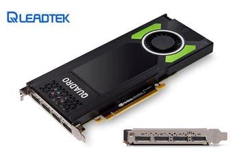 LEADTEK nVidia Quadro P4000 PCIe Workstation Card 8GB DDR5 4xDP 1.4