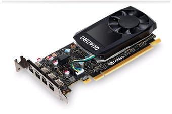 LEADTEK nVidia Quadro P620 PCIe Workstation Card 2GB DDR5 4xmDP1.4 4K
