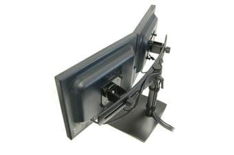 "Ergotron DS Series DS100 Dual Monitor Desk Stand, Horizontal 61 cm (24"") Black"