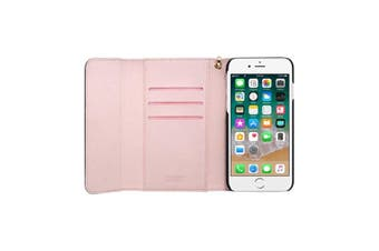 3SIXT NeoClutch Everyday Protection - iPhone Xs - Black/Dusty Pink