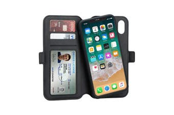 3SIXT NeoWallet - iPhone XR 2-in-1 case | Wireless charging capability | Card