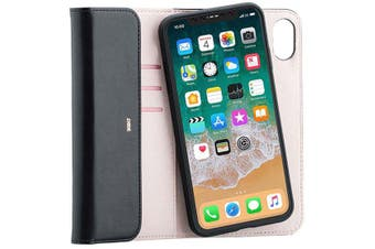 3SIXT NeoClutch - iPhone Xs Max 2-IN-1 CASE - FULL ACCESS TO SCREEN BUTTONS &