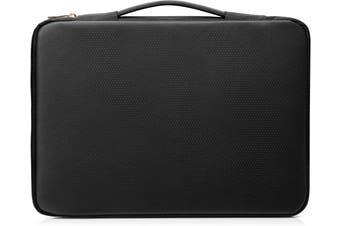 "HP 14"" Carry Sleeve Black/Gold notebook case 35.6 cm (14"") Sleeve case"