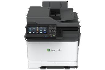 Lexmark CX625ADHE 37PPM NW DUPLEX 7 SCRN ADF USB HDD OCR CLR MFP 1YR OS REPAIR