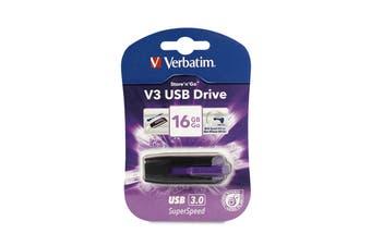 Verbatim V3 USB Drive 16GB USB flash drive USB Type-A 3.2 Gen 1 (3.1 Gen 1)