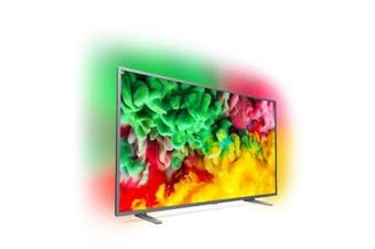 """Philips 6700 series, 164 cm (65"""") 4K Ultra Slim TV with Ambilight 3-sided,"""