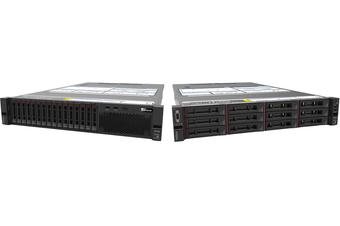 LENOVO ThinkSystem 2U Rack Server SR550, 1xIntel Xeon Silver 4208 8C 2.1GHz 85W,