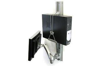 Ergotron Universal CPU Holder Desk-mounted CPU holder Gray