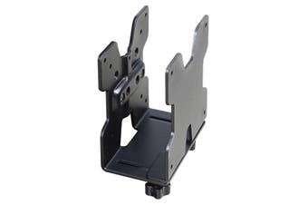 Ergotron 80-107-200 CPU holder Desk-mounted CPU holder Black