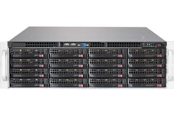 Supermicro 3RU Rackmount Server Chassis,  16 x 3.5' Hotswap HDD, SAS3 Backplane