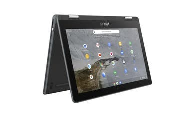 "ASUS Chromebook Flip C214MA Gray 29.5 cm (11.6"") 1366 x 768 pixels Touchscreen"