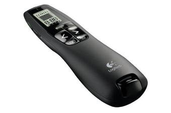 Logitech R800 wireless presenter Black