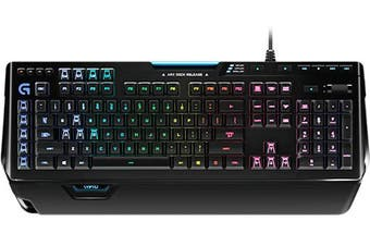 Logitech G910 keyboard USB Black