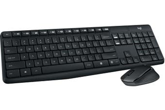 LOGITECH MK315 WIRELESS KEYBOARD AND MOUSE COMBO, 2.4GHZ NANO RECEIVER - 1YR WTY