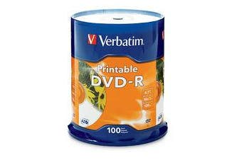 Verbatim DVD-R InkJet 4.7 GB 100 pc(s)