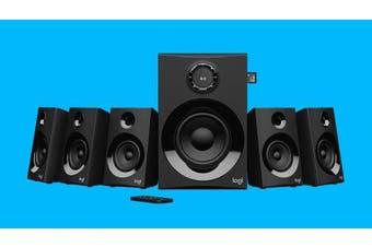 LOGITECH Z607 5.1 Surround Sound Speakers SD USB FM 160 WATTS 133.35 mm