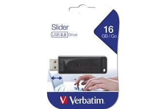 Verbatim Store 'n' Go USB flash drive 16 GB USB Type-A 2.0 Black