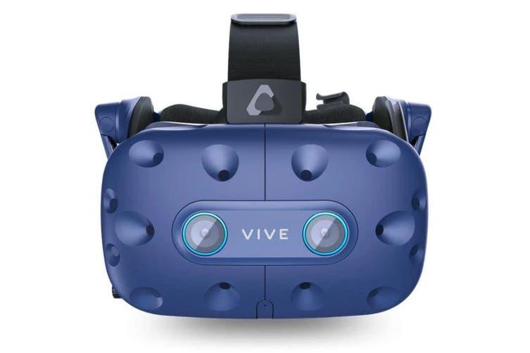 HTC VIVE PRO EYE FULL KIT, HEADSET, BASE STATIONx2, CONTROLLERx2, USB 3.0