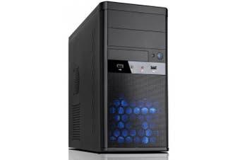"Aywun 208 Matx Integrator""s Case With 500w Max Psu. 24pin Atx, 8pin Eps, 1x"