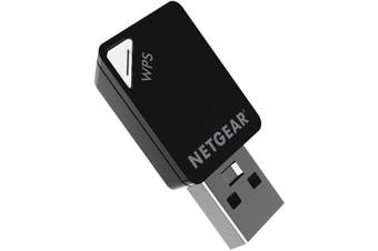 NETGEAR A6100 WIFI USB Mini Adapter - AC600 802.11ac Dual Band