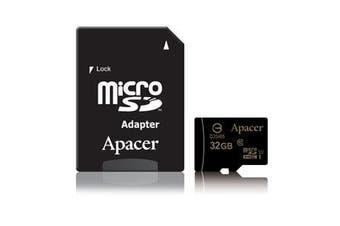 Apacer microSDHC UHS-I Class10 32GB memory card