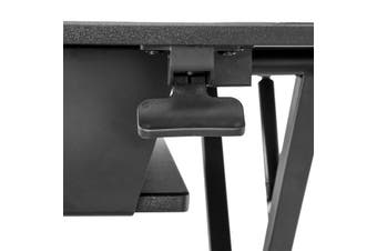 "StarTech.com Sit Stand Desk Converter with Keyboard Tray - Large 35"" x 21"""