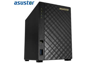 ASUSTOR AS1002T v2 2 Bay NAS Marvell ARMADA-385 Dual Core 1.6GHz 512MB DDR3