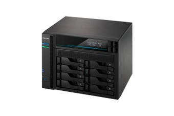 Asustor AS6508T NAS/storage server C3538 Ethernet LAN Tower Black