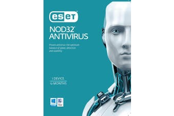 Eset NOD32 Antivirus 1 Device 2 Years Retail Physical Printed Download Card
