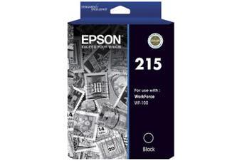 New Epson 215 Pigment Black Ink For Epson WorkForce WF-100