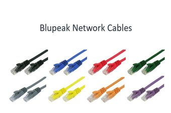 BLUPEAK 15M CAT6 UTP LAN CABLE - BLUE (LIFETIME WARRANTY)