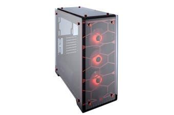 Corsair Crystal 570X Midi Tower Red